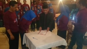 Pelantikan IKAMI SMA Muhammadiyah Purwokerto