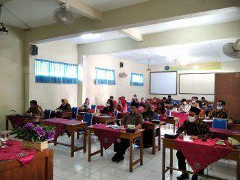 Musyawarah Kerja Kepala Sekolah (MKKS) Bulan Agustus di SMA Muhammadiyah 1 Purwokerto