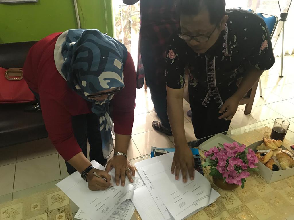 MoU IKAMI SMA Muhammadiyah Purwokerto