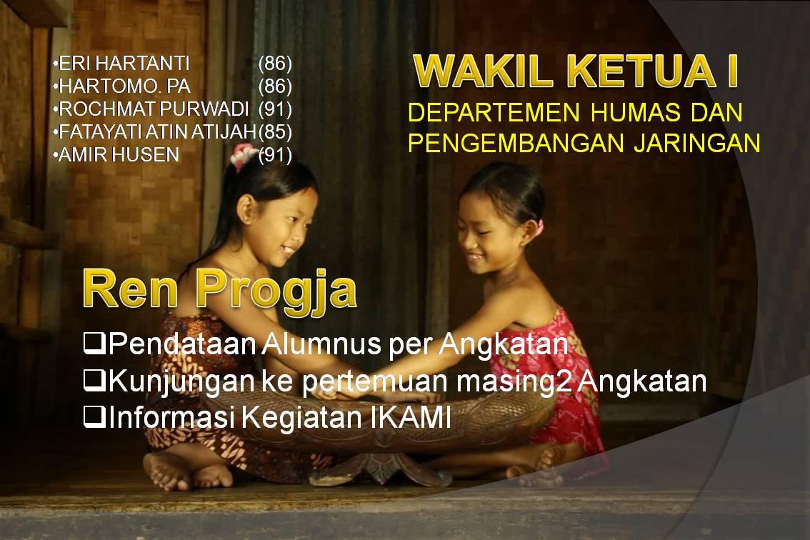 Program Kerja IKAMI SMA Muhammadiyah 1 Purwokerto