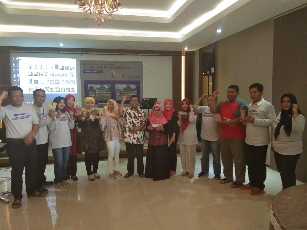 IKAMI dan Para Donatur Pembangunan SMA Muhammadiyah